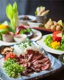 黒毛和牛いちぼ肉のたたきも食べられる贅沢コース