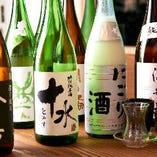 日本酒飲み放題プラン 1時間 1,800円(税込)