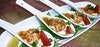 海老と豆腐のオードブル一口4スプーン