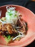鶏モモ肉の唐揚げ AgORA特製薬味ダレ