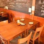 宴会向けテーブル席(2~4名)宴会/忘年会/新年会/歓送迎会/ご家族で◎