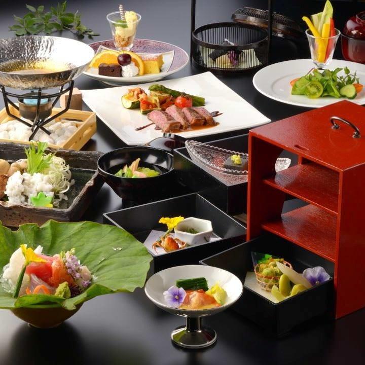 宮城の旬を堪能出来る「旬味コース」が各種宴会にお勧めです。