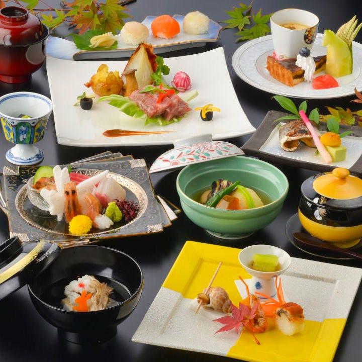 [料理のみ]会席コース【花】6,600円(税込)