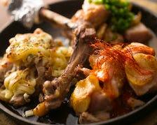 【第4位】鹿児島産骨付き鶏 もも1本焼き