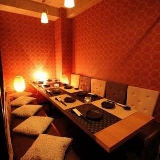 完全個室で優雅な雰囲気♪上野でのデートや接待に◎