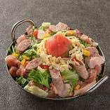 九州地鶏トマトチーズ鍋