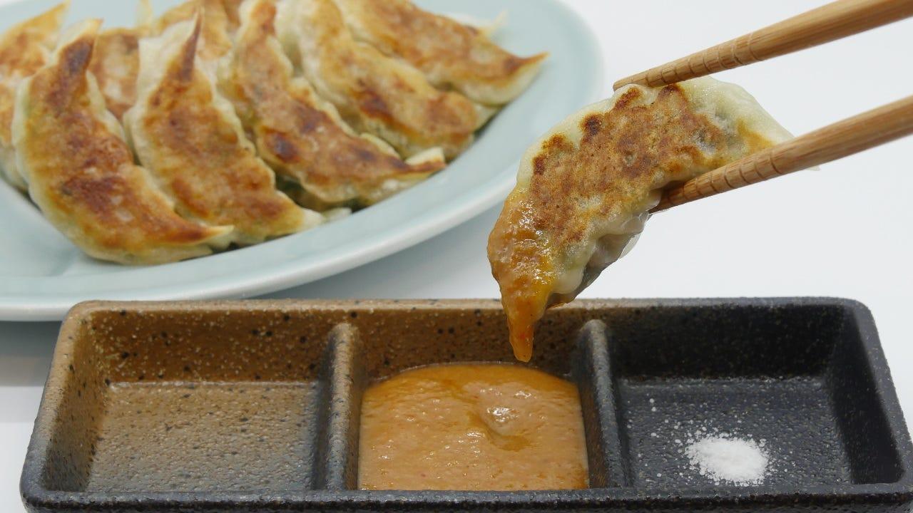 信州味噌ダレ餃子