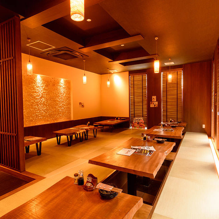 琉球畳でゆったり過ごせる別館