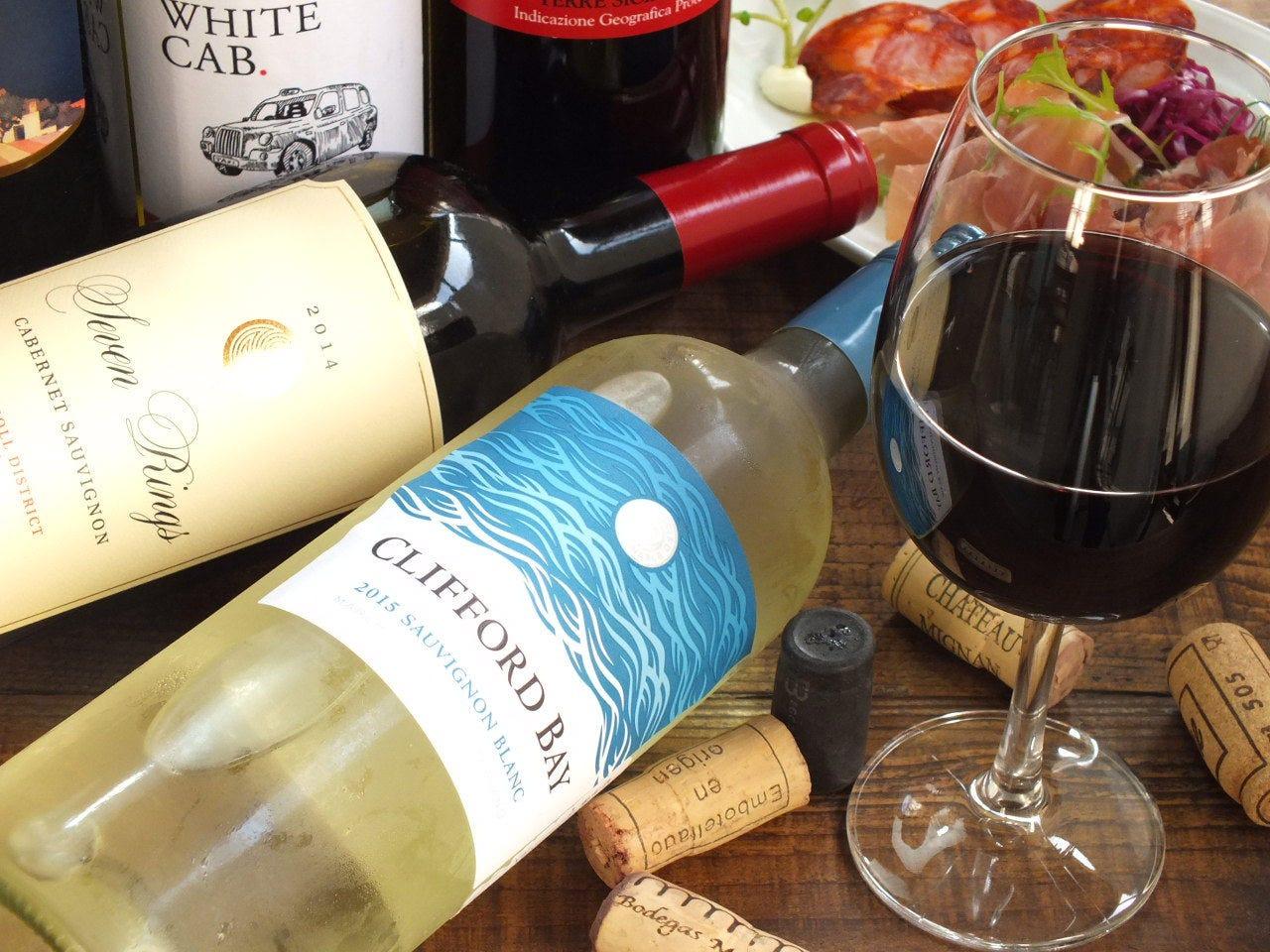 シェフ厳選のワインたち