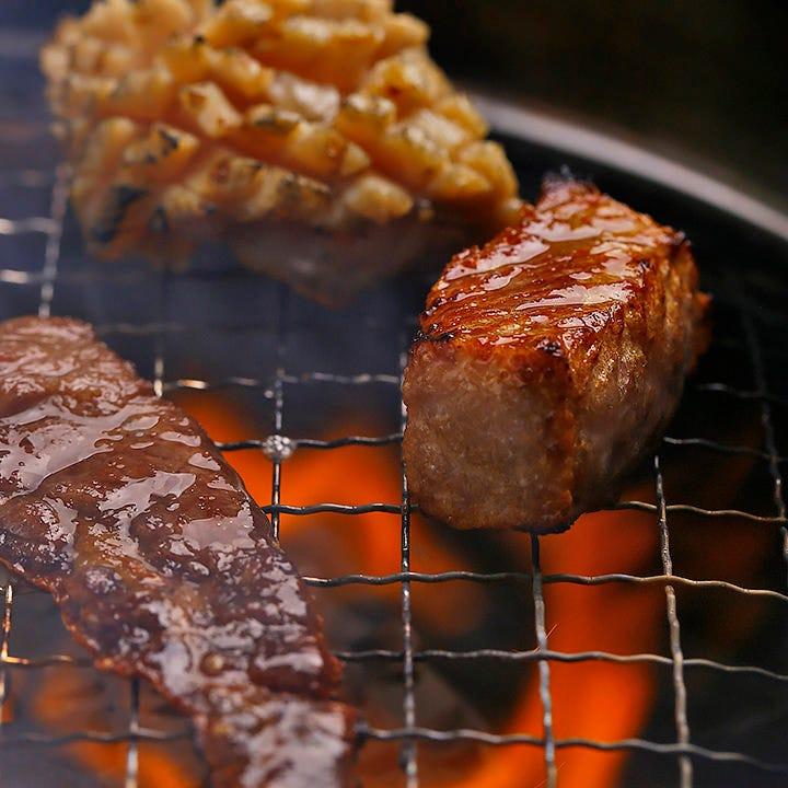 土日祝お昼限定!焼肉食べ放題コース