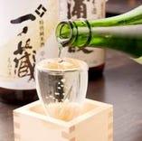 【日本酒にこだわる】 地酒多数取り揃えております!