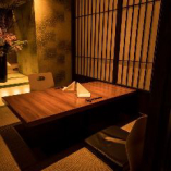 【至高の個室】ゆったりと寛げる和モダンな掘りごたつ個室。