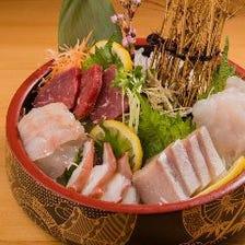 こだわりの日本海のお刺身