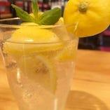 丸ごとレモンサワー
