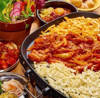 韓国料理サムギョプサルとフライドチキン スリスリマスリ 梅田店 メニューの画像