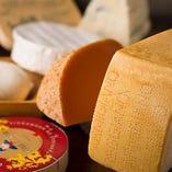 世界のチーズ3種