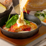 鶏モモ肉のトマト煮込み ~ラクレット~