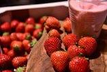 はまふぅどコンシェルジュ高橋シェフの「苺のヘルシースムージー」