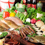 当日仕入れ 新鮮野菜及び魚介