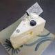 さっぱりしたレアーチーズに     キルシュ風味のパイン