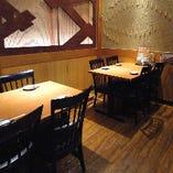 【パーティルーム】個室にもなるテーブルパーティルームです!