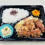 【鶏唐揚げ弁当】500円(税込)