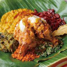 こだわりのスリランカ料理