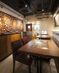 すき焼きそば&想咲鉄板焼 千陽 福島店 店内の画像