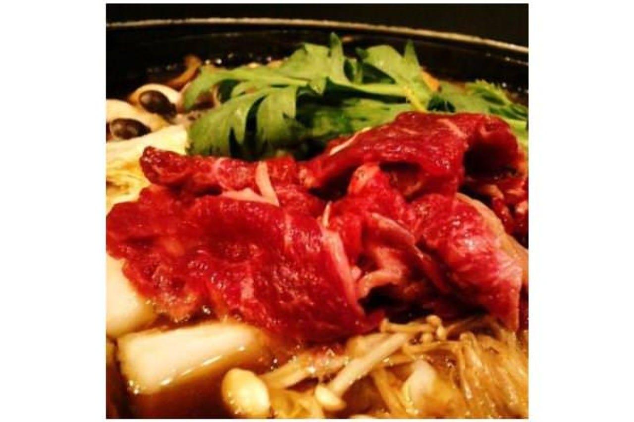 馬肉鍋!選べる「すき焼き&塩鍋」!