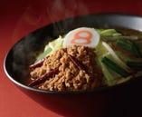 野菜ピリッ辛担々麺 太麺