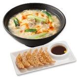 酸辣湯麺 海老餃子セット