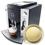 挽きたてドリップコーヒーかアイスコーヒーかシャーベットをサービス!