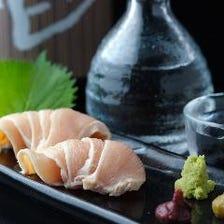 豊川では当店だけ!売切御免◆鶏刺し
