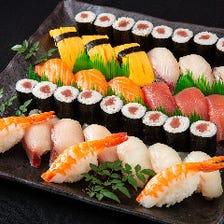 寿司・海鮮丼・お刺身をお持ち帰り