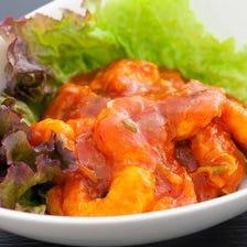 【名物料理】小エビのチリソース煮