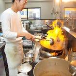 中華料理は素材と火力が「命」!