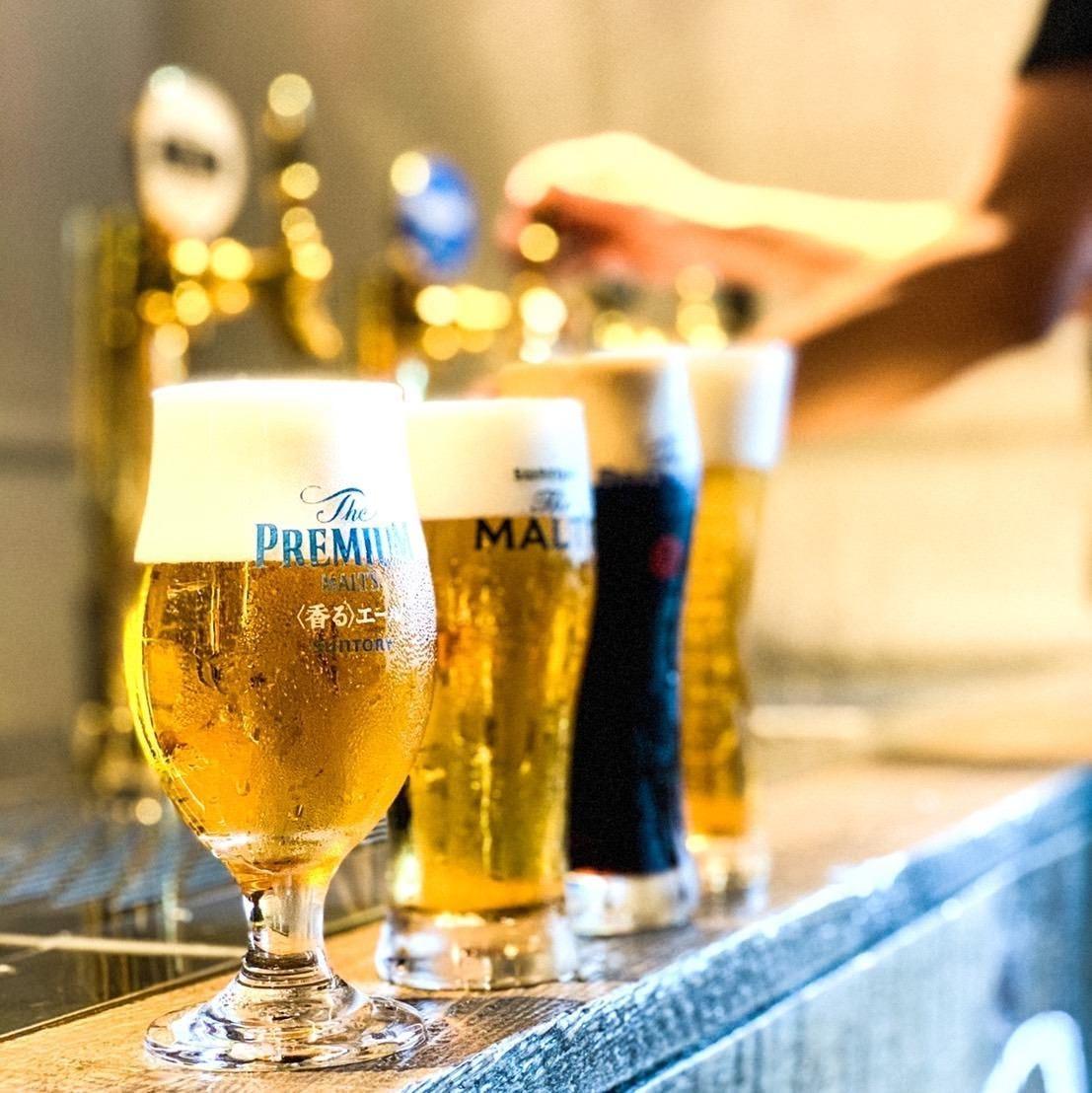 100種類以上のアルコール飲み放題