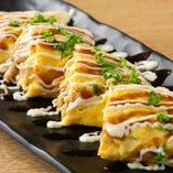 大阪名物『とんぺい焼』は豚肉の旨みと半熟玉子のふわとろ感が◎