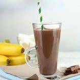 チョコバナナカクテル