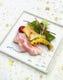 ローストポークの塩麹焼き 温野菜添え