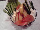 京城苑特製サラダ