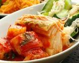 キムチやナムルは全て自家製・手作りです。焼肉のお共に、おつまみに。ぜひご注文ください!