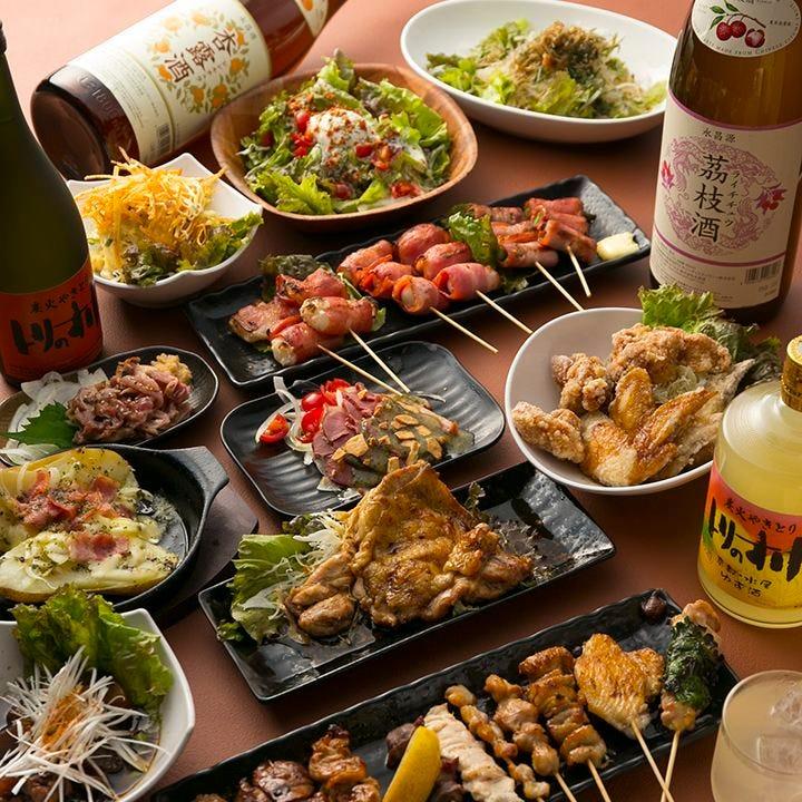 【食べ飲み放題】焼鳥も、炭火焼きも、麻婆も、ご飯も、スイーツも!約150種食べ放題&190種飲み放題