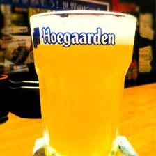 樽生ヒューガルデン・ホワイト(ベルギー) ☆池袋東口でココでしか飲めないレアビール☆