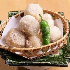 【人気③】里芋のコロコロ揚げ