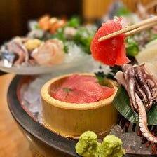 ◆市場直送だから出来る海鮮料理