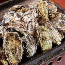名物!牡蠣のガンガン鉄板焼き