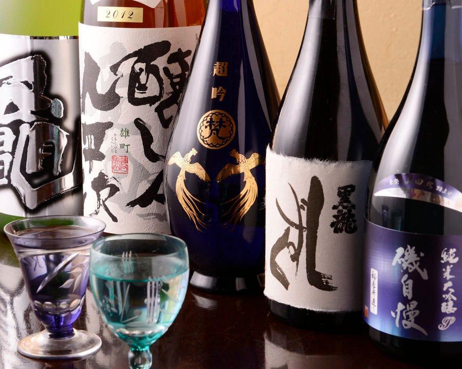 限定酒や希少な日本酒に出会えるかも!?