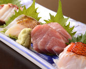 豪華!活〆鮮魚の刺身7種盛り