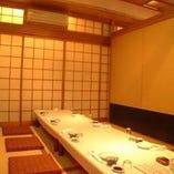 お座敷個室(4名様~8名様)